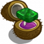 Hawaiian Paradise Platinum Emerald Unwither Ring-icon