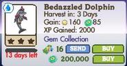 Bedazzled Dolphin Market Info (June 2012)