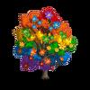 Rainbow Magnolia Tree-icon