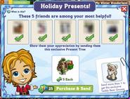 Holiday Present Notification
