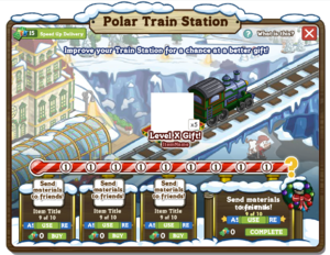 Polar Train Station