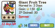 Giant Fruit Tree Market Info (June 2012)