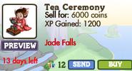 Tea Ceremony Market Info (2012)