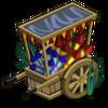 Fireworks Cart-icon