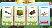 Hawaiian Paradise Zoo Inside Building Materials