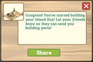 Hawaiian Paradise Zoo Initial Message