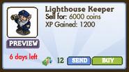 Lighthouse Keeper Market Info