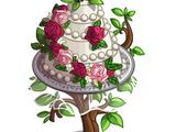 Spring Wedding Cake Tree