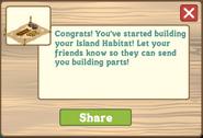 Hawaiian Paradise Wildlife Habitat Initial Message