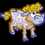 Blue Lace Buttercup Bovine-icon