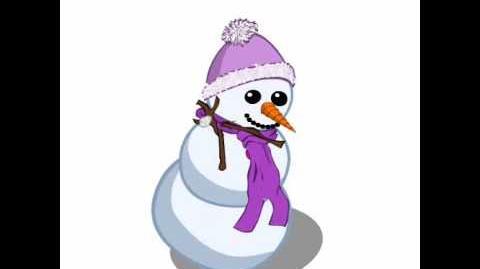 FV Winter Snowman Dancing