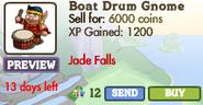 Boat Drum Gnome Market Info (June 2012)