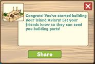 Hawaiian Paradise Aviary Initial Message