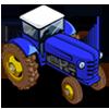 Blue Tractor-icon