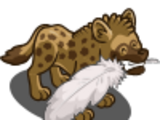 Tickling Hyena