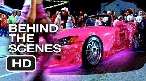 2 Fast 2 Furious Behind The Scenes - Pink Car (2003) - Paul Walker Movie HD