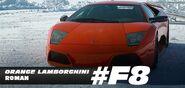 Roman's Orange Lamborghini