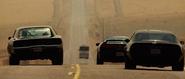 Charger, NSX & Trans Am - Prison Bus Break (Fast Five)