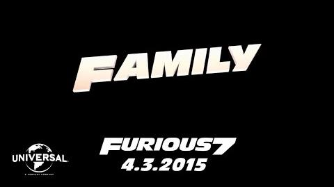 Furious 7 Cast Favorites - Family (HD)