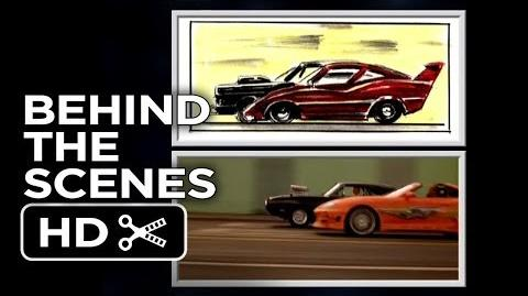 The Fast and The Furious BTS - Storyboard to Screen Train Race (2001) - Vin Diesel Racing Movie HD
