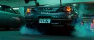 Sean's Nissan Silvia S15 - Rear View