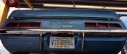 1969 Yenko Camaro - Rear View