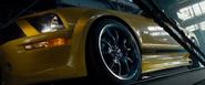 Loading the Mustang GT Tjaarda