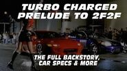 The Turbo Charged Prelude to 2 Fast 2 Furious The Making of