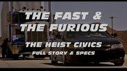 FAST & FURIOUS HEIST CIVICS