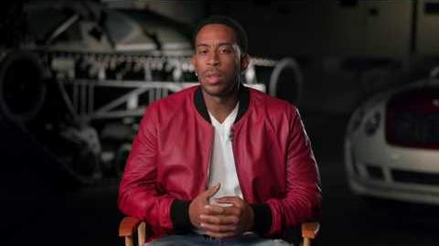 """The Fate of the Furious Chris 'Ludacris' Bridges """"Tej"""" Behind the Scenes Movie Interview"""