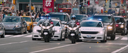 Times Square - NYC Police Motorcade (F8)