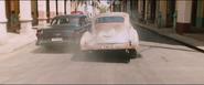1956 Ford Fairlane & 1950 Chevrolet Fleetmaster (Havana Street Race - Rear View)