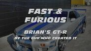 FAST & FURIOUS Brian's GT-R by the guy who created it.