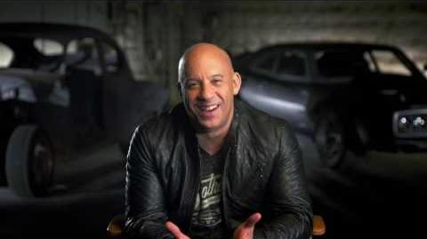 "The Fate of the Furious Vin Diesel ""Dominic Toretto"" Behind the scenes Movie Interview"