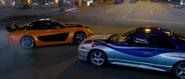 Han drifting - Mazda RX-7 & Nissan Skyline R34 GT-R