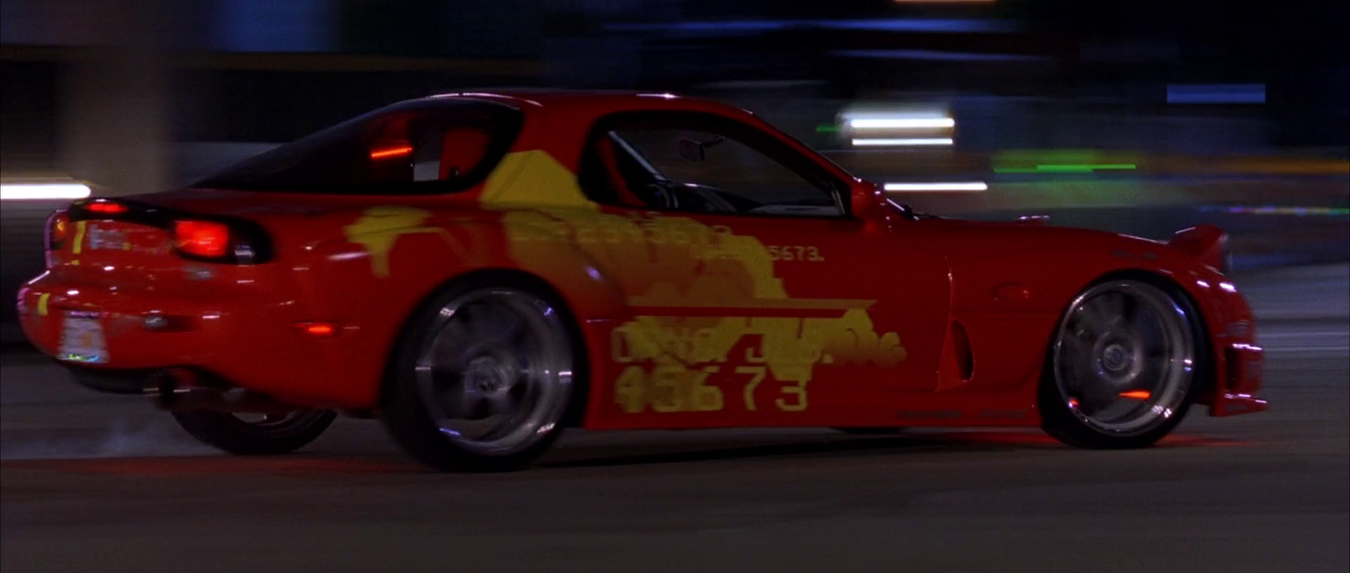 1993 Mazda RX-7 (Orange Julius)