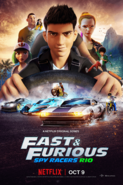 Fast & Furious Spy Racers Rio Poster 02