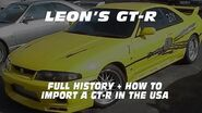 LEON'S GT-R CRUSHED BY THE FEDS! FULL STORY & SPECS.
