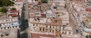Havana, Cuba (Street Race - Aerial View)