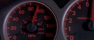 Lancer Evolution VII - Speedometer