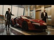 Fast & Furious 7 - Behind the scenes with the Lykan HyperSport