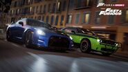 Brian's Nissan GT-R & Letty's Challenger - Forza Horizon 2