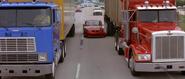 Saleen Mustang - Between Trucks