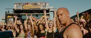 Dom at Race Wars - Furious 7