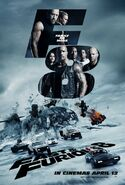 The Fate of the Furious UK Poster