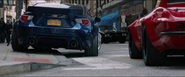 2017 Subaru BRZ (Rear View - License Plate)