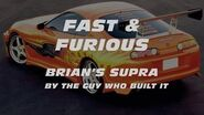 FAST & FURIOUS - Brian's Supra By The Guy Who Built It