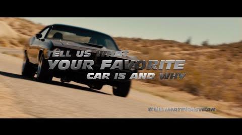 Fast & Furious - Favorite Cars