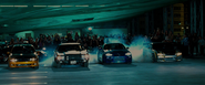 Braga's Street Race - The Four Racers
