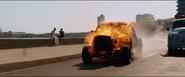Burning Chevy Fleetmaster (F8)